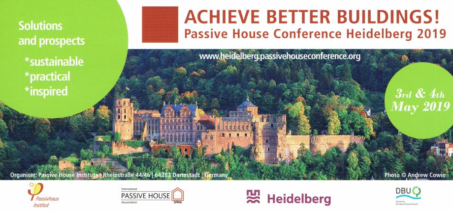 ACHIEVE BETTER BUILDINGS! 3-4 Maggio 2019