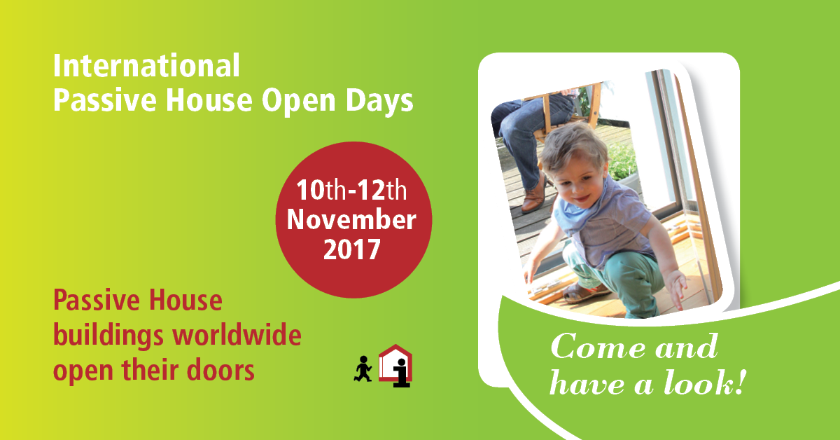 OPEN DAYS 2017 PassivHaus - 10/12 Novembre 2017