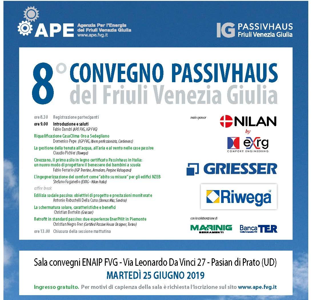CONVEGNO PASSIVHAUS Friuli Venezia Giulia